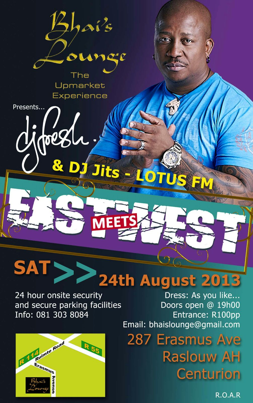 East Meets West 2013
